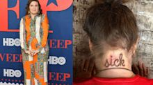 Lena Dunham's new 'sick' tattoo is confusing people: 'I'm lost'