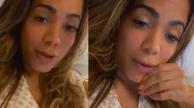 """Anitta é internada com trombose: """"Doença perigosa"""""""