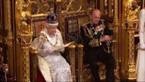 Queen Elizabeth marks the State Opening of Parliament