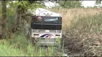 NJ Transit bus crashes into marsh, multiple injuries reported