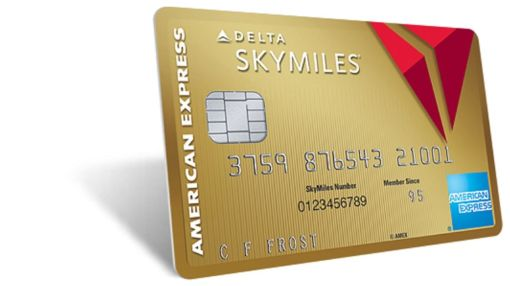 Gold Delta Skymiles® Card