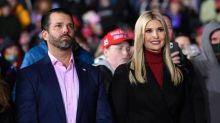 Ivanka praises her own work in farewell message as bitter Don Jr compares Biden to The Lion King's Uncle Scar