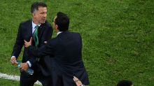 Mexico's Osorio 'sorry' for bust-up with Kiwi football bench