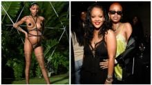 Pregnant model goes into labour at Rihanna's fashion show