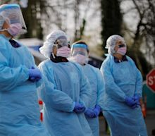 'We're not sacrificial lambs': A nurse describes to us what it's like working on the front line of the coronavirus outbreak and reusing her N95 mask
