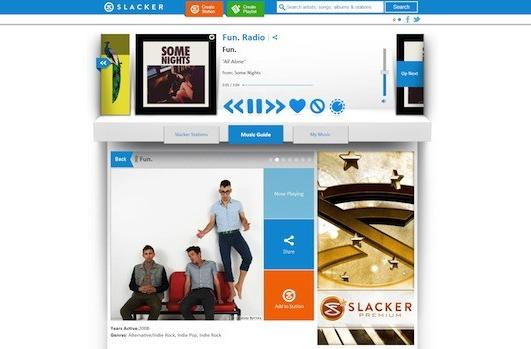 Slacker reinvents itself: simpler, more approachable internet radio
