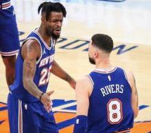 Knicks set to return Frank Ntilikina, Austin Rivers from injury while Reggie Bullock misses Trail Blazers game