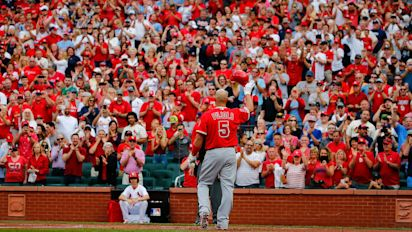 Don't forget how great Albert Pujols was