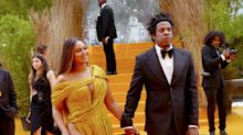 Beyoncé Just Wore the Most Jaw-Dropping Leg Slit Dress to 'The Lion King' Premiere in London