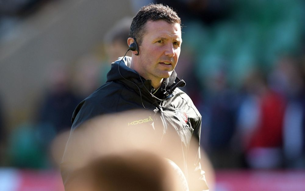Aaron Mauger ended his short Leicester spell with victory  - Rex Features