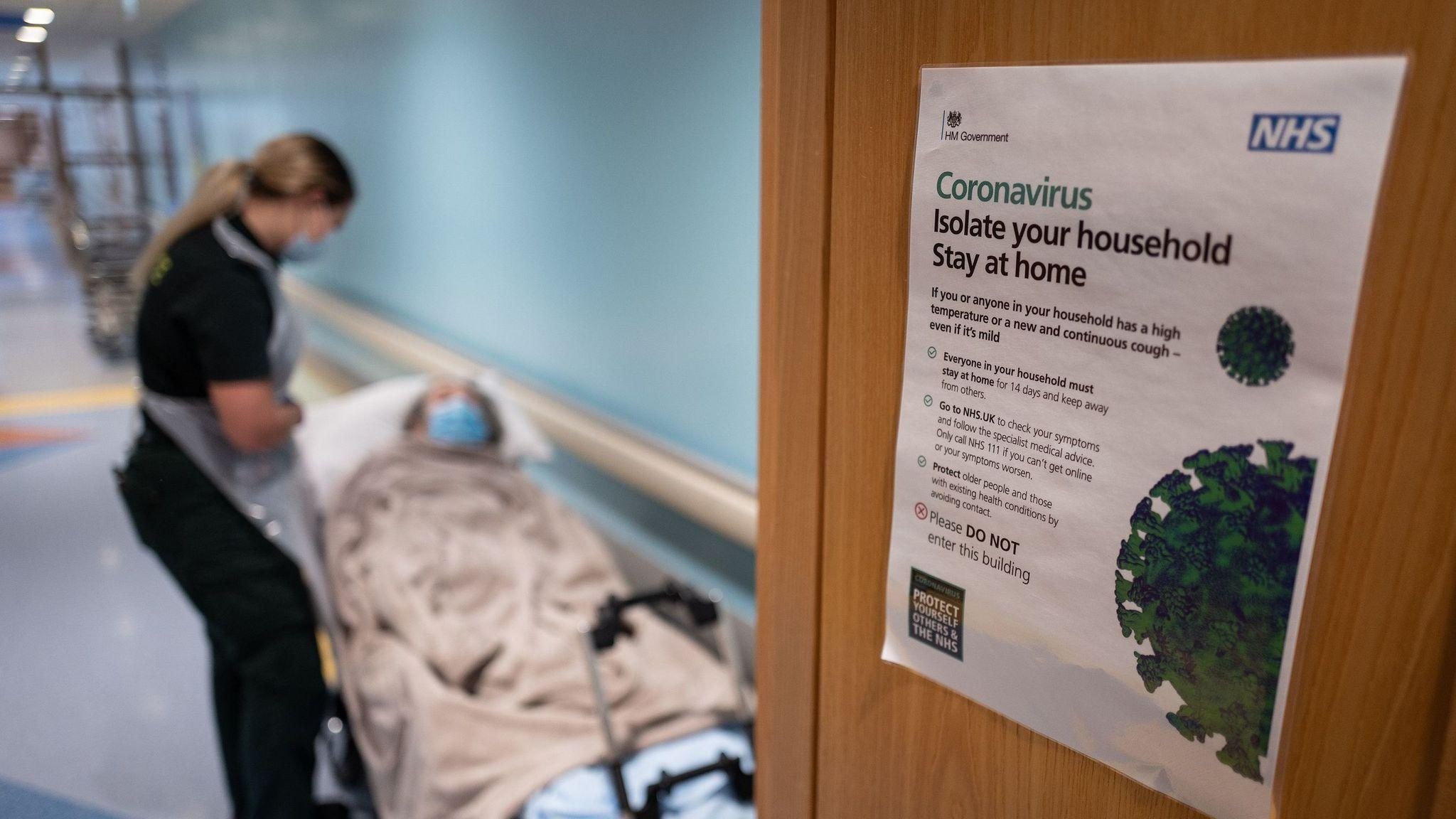 Coronavirus: 40% of recent COVID-19 deaths in England and ...