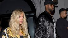 Khloe Kardashian Stuns in Versace For Date Night With Tristan Thompson