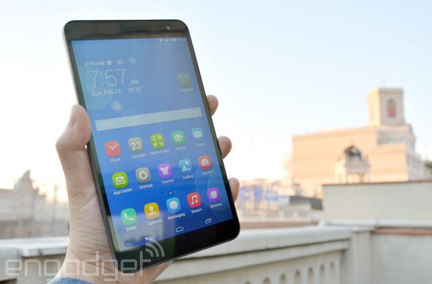 Huawei MediaPad X1 is the lightest and narrowest 7-inch tablet, plus it's a phone (video)