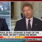 Rand Paul Fires Back at Jon Stewart on Fox News: He's 'Not Using His Brain'