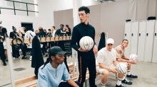 Tinie Tempah turned LFWM into a basketball court for What We Wear SS18
