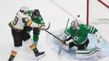 Khudobin, Stars beat Knights to take 3-1 lead in West final