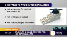 3 money mistakes to avoid after graduating college