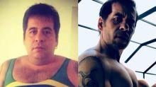 70 quilos mais magro, Leandro Hassum choca fãs com antes e depois