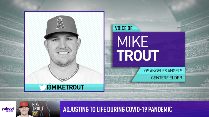Mike Trout's quarantine features no hitting but lots of Yahtzee