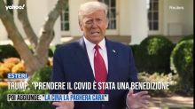 """Trump: """"Prendere il Covid è stata una benedizione di Dio"""""""