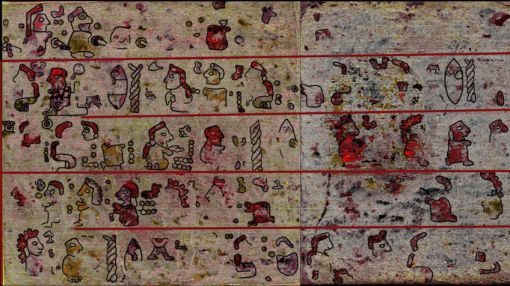 500-Year-Old Hidden Images Revealed in Mexican 'Manuscript'