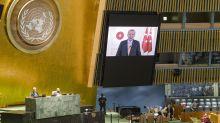 Erdogan defiende en la ONU la legitimidad de sus intereses en el Mediterráneo