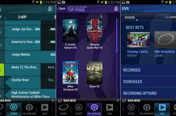 Cablevision expands cloud DVR storage, list of supported Android devices