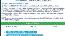 Hackers post online thousands of Broward schools files, including student, teacher info