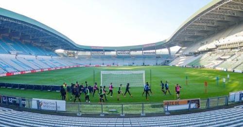 Foot - L1 - FCN - FC Nantes : Le stade de la Beaujoire vandalisé