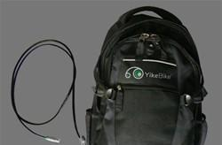 YikeBike extender battery backpack keeps you riding in, um, style for six more miles