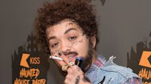 Rita Ora Just Owned Halloween with Her ICONIC Post Malone Costume