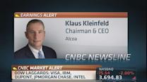 Very good quarter: Alcoa CEO