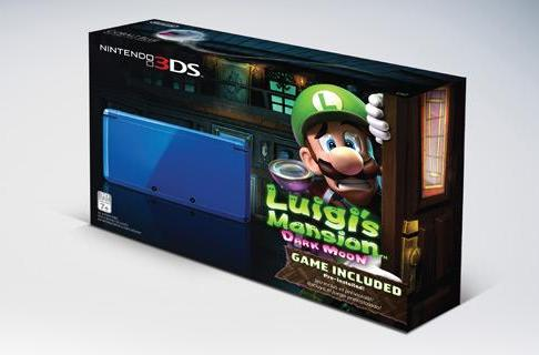 Luigi finally gets his own 3DS bundle in this, the year of Luigi