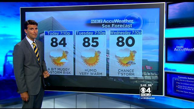 WBZ AccuWeather Evening Forecast For July 7