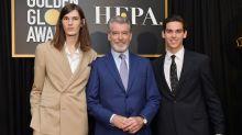 Pierce Brosnan's Sons Paris and Dylan Named 2020 Golden Globe Ambassadors