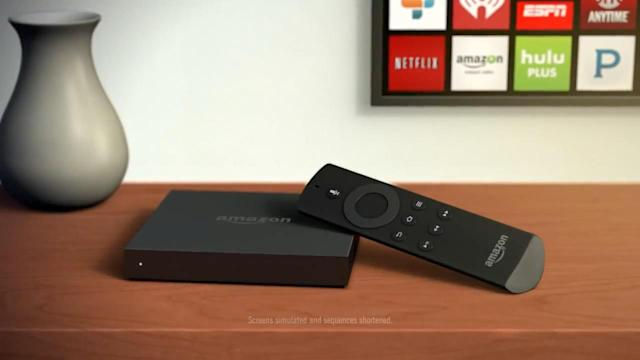 Amazon Unveils Fire TV, and More