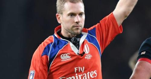 Rugby - Tests - Angus Gardner va arbitrer l'équipe de France contre la Nouvelle-Zélande