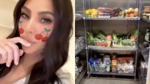 Kim Kardashian stuns followers with tour of over-the-top walk-in refrigerator: 'Living the dream'