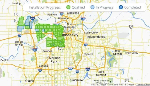 Google Fiber to expand its footprint (slightly) beyond Kansas City to Olathe, KS