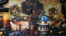 Jojo Todynho comemora aniversário de 22 anos com festão