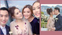 阿嬌註冊大日子被形容為「嫁出去的水」!美美新娘薄紗低胸婚照逐張看!