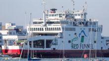 Coastguard investigates Isle of Wight ferry crash