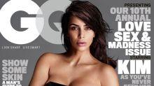 La primera portada de Kim Kardashian en GQ