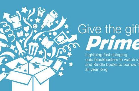 Amazon now allows you to gift Prime, just in time for the holidays