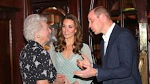 Duchess Of Cambridge flawlessly pulls a pint in a designer gown at Belfast's Empire Music Hall