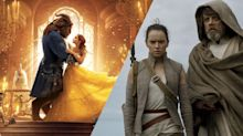 The Last Jedi pipped by Beauty And The Beast in box office battle