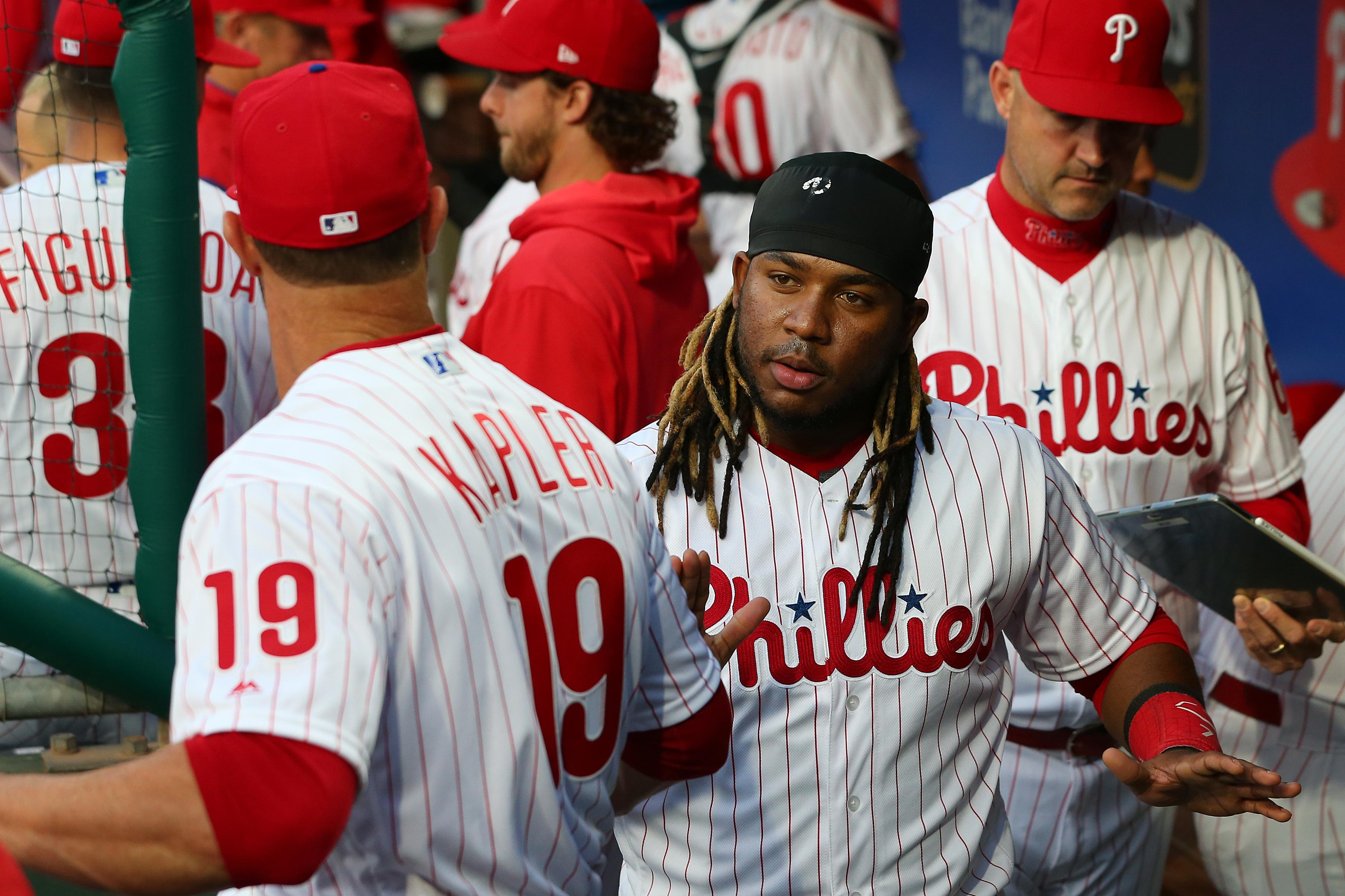 Gabe Kapler benches Maikel Franco for lack of hustle on ground ball with bases loaded