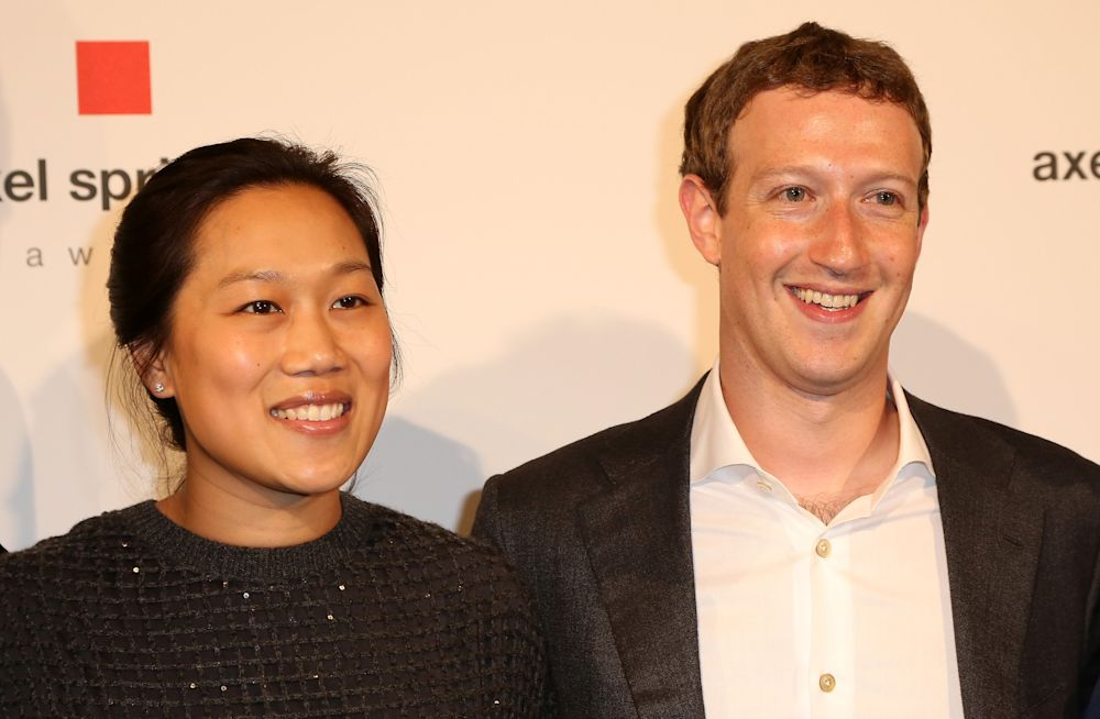 Mark Zuckerberg Shares His Daughter's First Word in an Adorable Facebook Photo