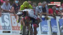 Cyclisme - Tour du Limousin - 2e étape : La fin de course et la victoire de Gaviria
