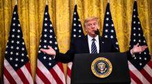 Nach Floyd-Protest am Weißen Haus: Trump droht Demonstranten